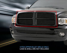 Black Billet Grille Grill Upper Insert For Dodge Ram 2002 2003 2004 2005