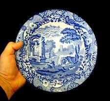 Beautiful Copeland Spode Italian Blue Salad Bowl