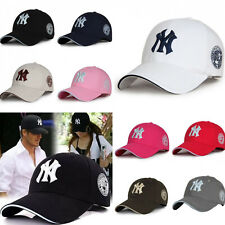 Embroidered NY New York Yankees Adjustable Sun Visor Protection Golf Cap Unisex