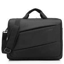17.3 Inch Laptop Shoulder Bag Messenger Bag Briefcase Handbag for Dell HP Black