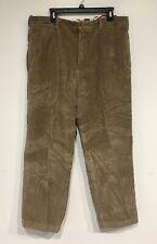 GAP Clean Cut Corduroy Men's  Pants 👖 Sz 38 x 30 Cotton flat front Super soft!