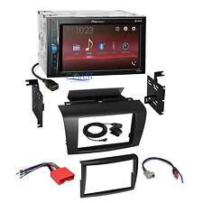 Pioneer 2018 USB Multimedia 2 Din Stereo Dash Kit Harness for 2004-2009 Mazda 3