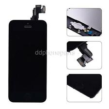 Black LCD Screen Touch Digitizer + Frame Front Camera Home Button For iPhone 5c