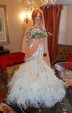 "$3200 Jean Paul Gaultier Doll for Mundia 34"" L.E. 70/500 Wedding Gown 1999 Coa"
