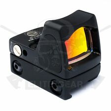 Black Tactical Red Dot Illuminated Sight RMR Adjustable Reflex Scope fit ACOG