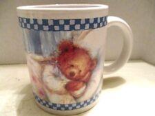 Hallmark Mary's Bears Sleeping Bear Ceramic Coffee Cup/Mug
