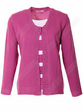 Striped Button Jumpers & Cardigans Size Petite for Women