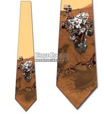 Mars Rover Tie Men's NASA Planet Neck Ties Space Necktie Brand New
