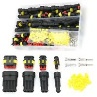 Usually 26 Kit Super Sealed Car Electrical Waterproof Wire Plug Connector UK