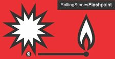 "Rolling Stones Flashpoint Music Bumper sticker wall decor vinyl decal, 5""x 2.5"""