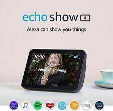 Amazon Echo Show 8 ✅ HD smart display with Alexa - Charcoal Fabric New  ✅