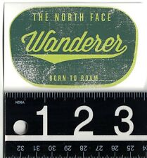 THE NORTH FACE STICKER The North Face 3.5 in. x 2.25 in. Born To Roam Decal