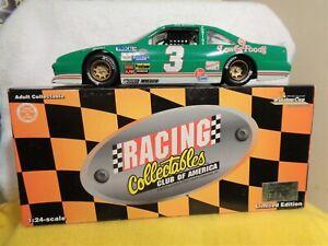 DALE EARNHARDT SR 1/24 ACTION #3 LOWES 1989 PONTIAC 1 OF 10,000 DIECAST NASCAR