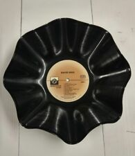 David Soul Recycled Record Bowl Private Stock Records (1976) Decrotive 78 RPM