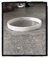 Bracelet Jonc Pure Céramique Blanc Facetté Diamètre 62MM Bijoux Femme