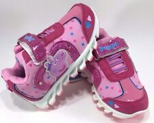 Peppa Pig Heart Light-Up Sneakers Shoes Size 5 Toddler - Pink