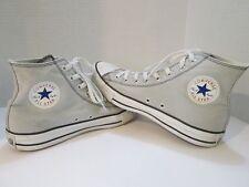 Converse Chuck Taylor All Star Canvas Hi Top Sneakers Mens 9 Women's 11 Gray