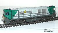 Mehano 58913 -  Diesellok G2000 BB asy. Führerhaus R4C grün Ep.V/VI AC Sound