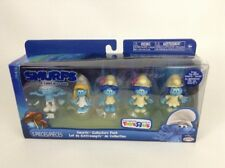 """Smurfs The Lost Village Collectors Pack Set of 5 SEALED 2"""" Clumsy Smurfette"""