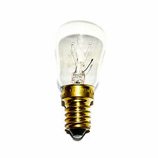 2 x 15 watt Clear Pygmy Sign Light Bulbs SES E14 Crompton Branded