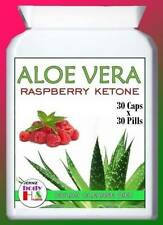 BEST RASPBERRY KETONE WILD DIET PLUS ALOE VERA CLEANSE SLIMMING PILLS TABLETS UK