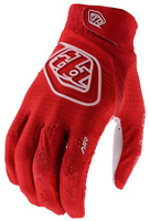 TROY LEE DESIGNS TLD YOUTH BOYS SOLID RED MTB CYCLING AIR GLOVES size SMALL