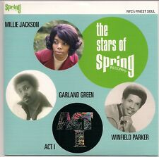 NORTHERN SOUL EP THE STARS OF SPRING ACT 1 MILLIE JACKSON GARLAND GREEN - KENT