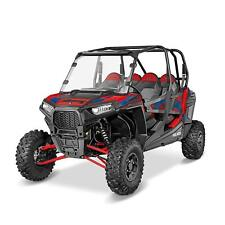 """1/4"""" Thick Polaris Full Windshield for 14-18 RZR 900/4 900/XP Turbo/1000/S 1000"""
