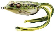 """NEW Koppers Hollow Body Frog Floating 2-1/4"""" Green/Yellow FGH55T500"""