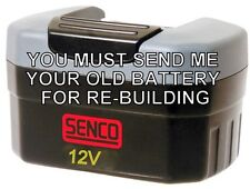 Rebuild service for Senco VB0022 12V Battery
