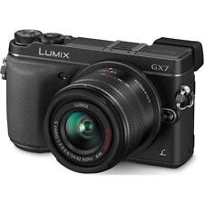 Panasonic LUMIX DMC-GX7 16.0MP Digital Camera - Black Kit w/ LUMIX G VARIO 14 42