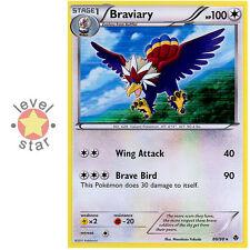 BRAVIARY Emerging Powers 88/98 Regular Holo Rare Pokemon Card