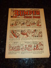 The BUMPER COMIC BOOK Comic - No 5 - UK Paper Comic