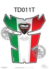 DUCATI 848 / 1098 / 1198 Tank Pad ITALIAN FLAG (TD011T)