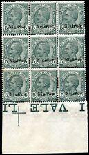 Egeo Nisiros 1912 n. 2 ** blocco di 9 (m2119)