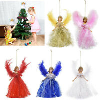 Christmas Tree Hanging Decoration Cute Angel Doll Pendant Xmas Ornaments