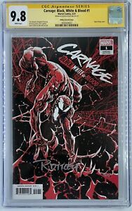 Carnage: Black White & Blood #1   Ryan Ottley Variant Cover   CGC SS 9.8