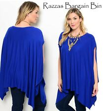 New Ladies Batwing Top Plus Size 14 16 18 & 20 (1323)MS