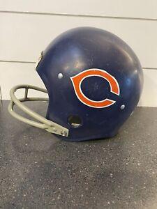 Vintage Chicago Bears Helmet Football Rawlings Medium HNFL No Chin Strap