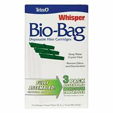 Tetra Whisper Bio-Bag Disposable Filter Cartridges 3 Count, For aquariums,Medium