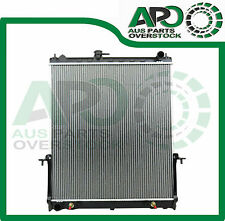 Premium Radiator NISSAN PATROL GU III Turbo Diesel Auto Manual 04-On + Free Cap