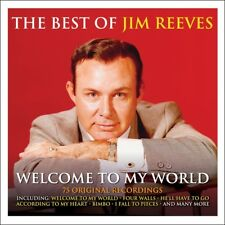 Jim Reeves - Welcome To My World - The Best Of / Greatest Hits 3CD NEW/SEALED