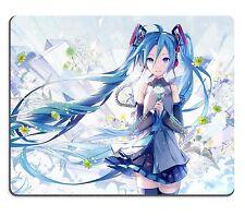 Vocaloid Hatsune Miku Flower Anime Mouse Pad Mat Mousepad