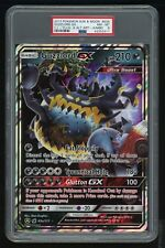 2017 Pokemon-PSA 8-Crimson Invasion-63A Guzzlord GX,Yellow A Alternate Art-JUMBO