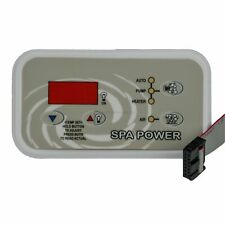 Davey SpaQuip Spa Power 400/500/600/601 Touchpad Control Panel Key Pad - Rectang