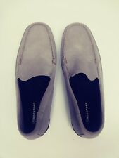 Rockport Mens Gray Suede Oxford Walking Hiking Casual Shoes Size 10M  EUC