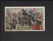 1887 N99 Civil War Battle Scenes Duke Tobacco The Black Horse Calvary Bull Run