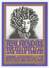 Jimi Hendrix Postcard 1968 Feb 10 Shrine Auditorium John Van Hamersveld