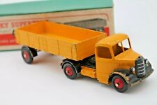 DINKY SUPERTOYS 521 * BEDFORD ARTICULATED LORRY  * 1950 * ORIGINAL & OVP