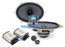 "IMAGE DYNAMICS CTX-57CS 5x7"" 6x8"" 2-WAY COMPONENT SPEAKERS TWEETERS CROSSOVERS"